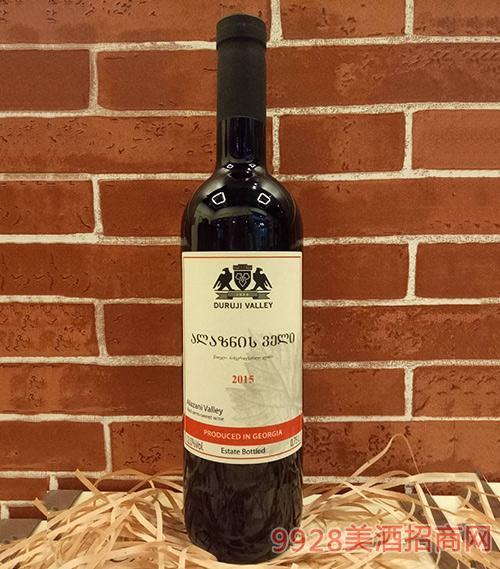 杜如基山谷阿拉扎尼山谷半甜红葡萄酒