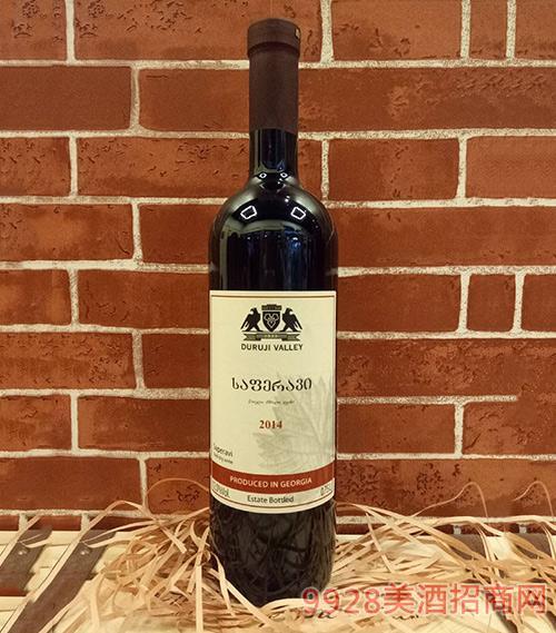 杜如基山谷萨佩拉维干红葡萄酒
