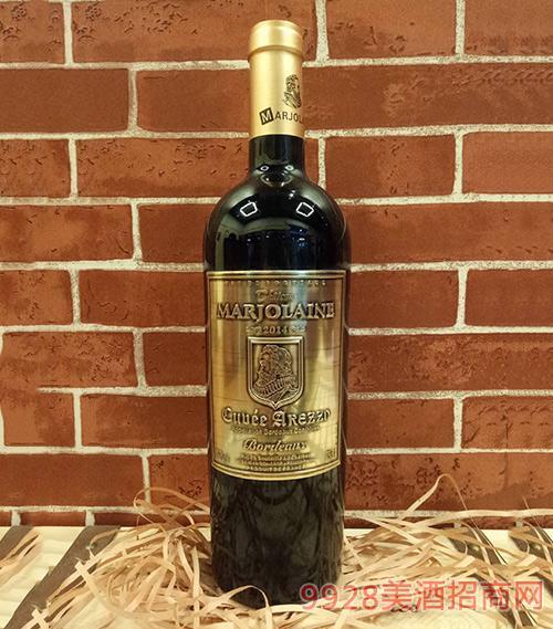 玛诺澜酒庄阿雷佐特酿红葡萄酒