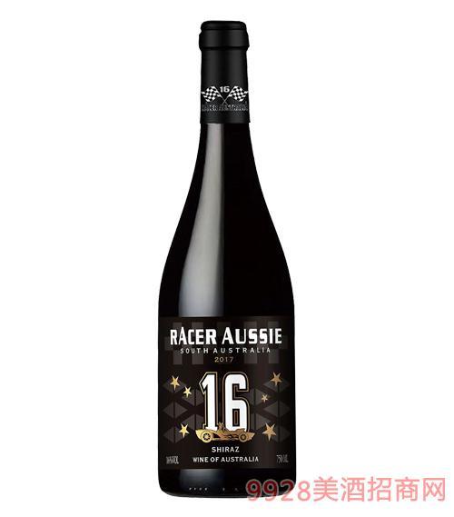 澳洲赛车手西拉干红葡萄酒