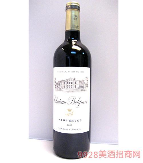 百家富酒莊上梅多克葡萄酒