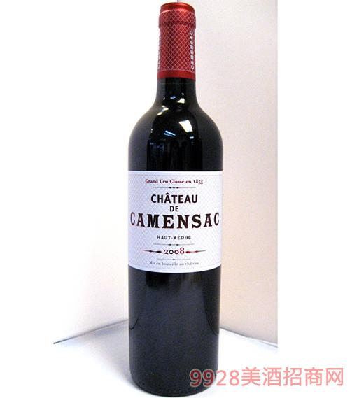 卡門薩克酒莊上梅多克葡萄酒