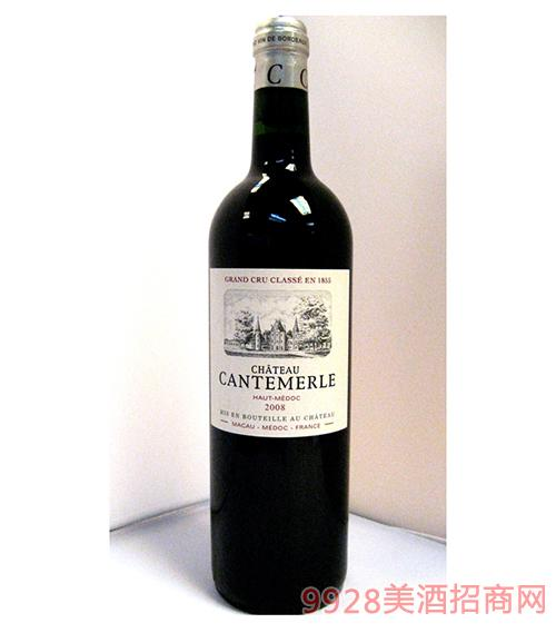康特梅酒莊上梅多克葡萄酒
