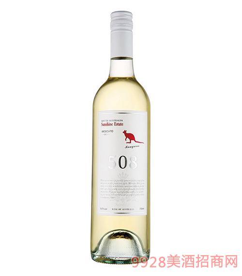 南澳阳光庄园袋鼠甜白葡萄酒9度750ml