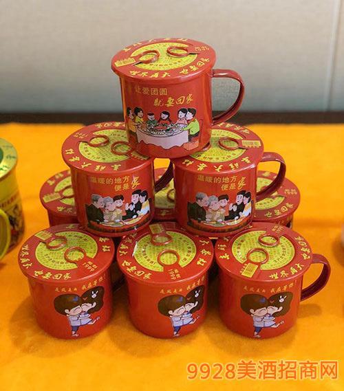 茶缸人参酒(红)