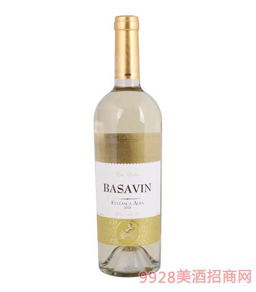 巴萨酒庄干白葡萄酒12.5度750ml