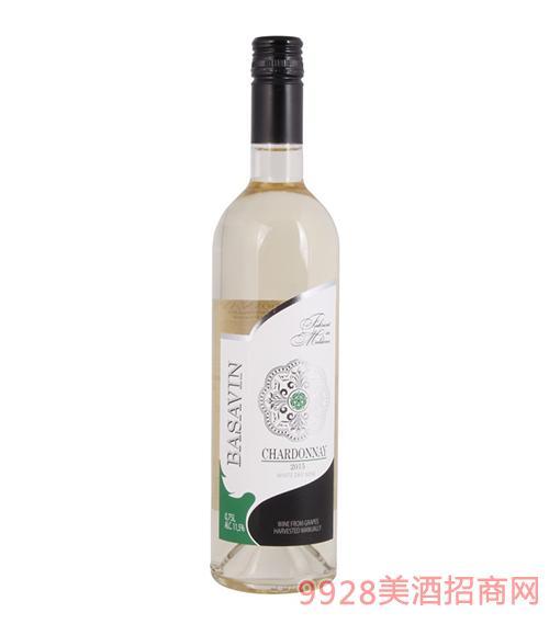 巴萨酒庄干白葡萄酒11.5度750ml