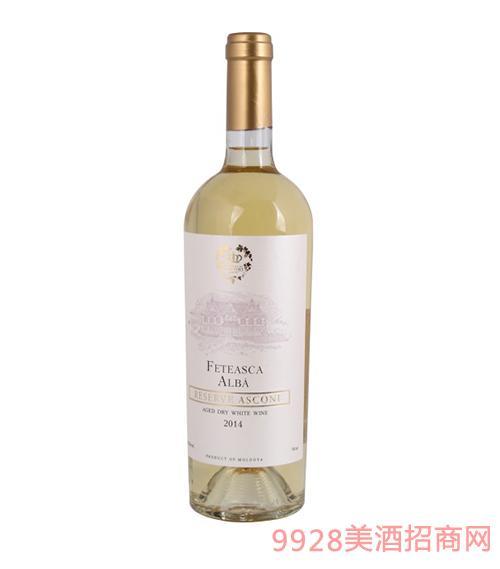 阿思孔霓酒庄干白葡萄酒12度750ml