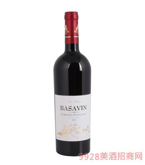 巴萨酒庄干红葡萄酒13.5度750ml