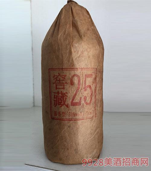 窖藏25年酒53度500ml