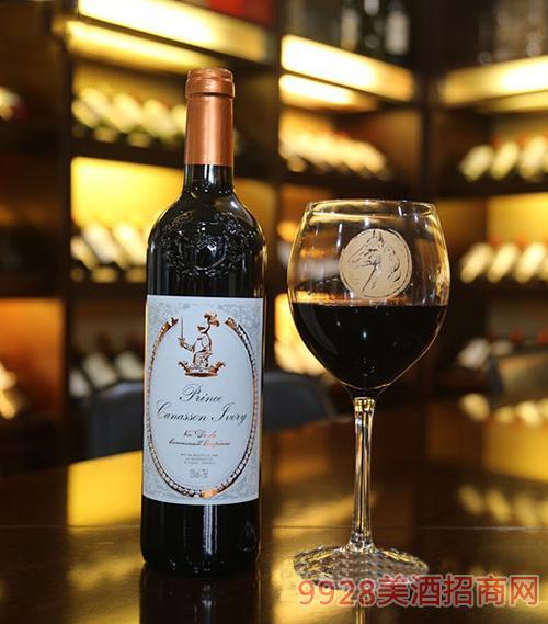 法国白马王子干红葡萄酒