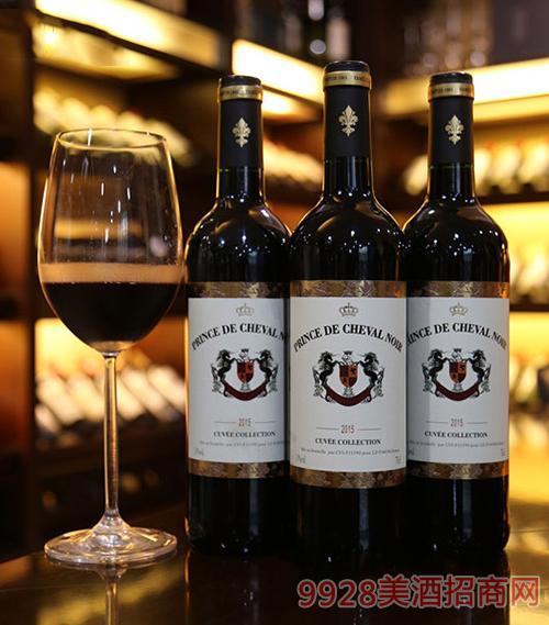 法国黑马王子干红葡萄酒