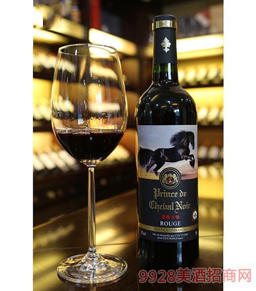 法国黑马王子优选干红葡萄酒