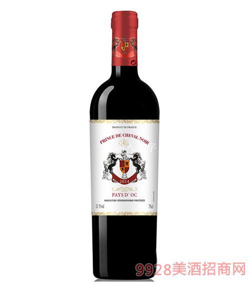 法国黑马王子臻选干红葡萄酒