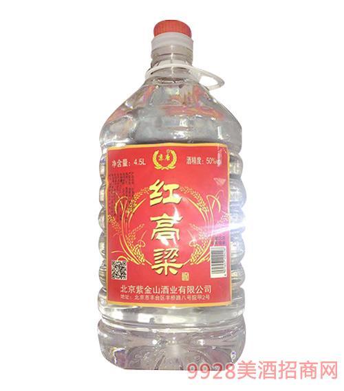 红高粱酒50度4.5L