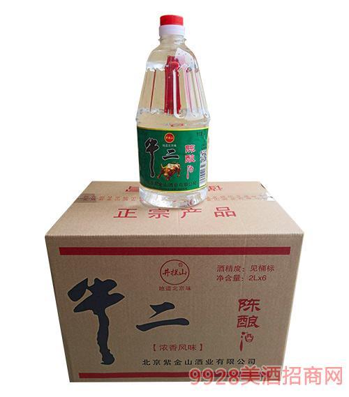 井拦山牛二陈酿酒2Lx6