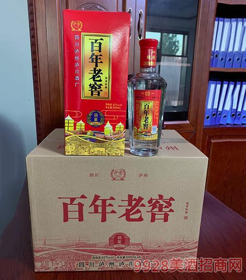 百年老窖酒品鉴42度500mlx6