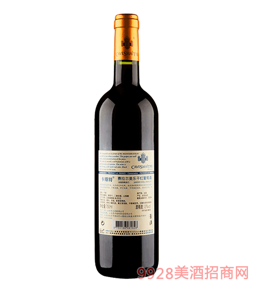 卡斯特赛拉尔美乐葡萄酒