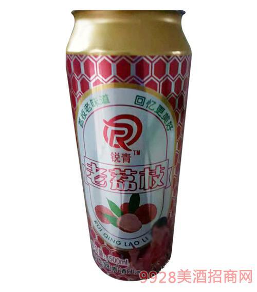 锐青荔枝味碳酸饮料500ml