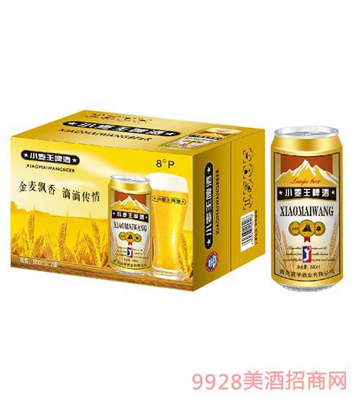 蓝举小麦王啤酒500mlx24罐