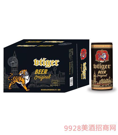 劲虎原浆黑啤950ml