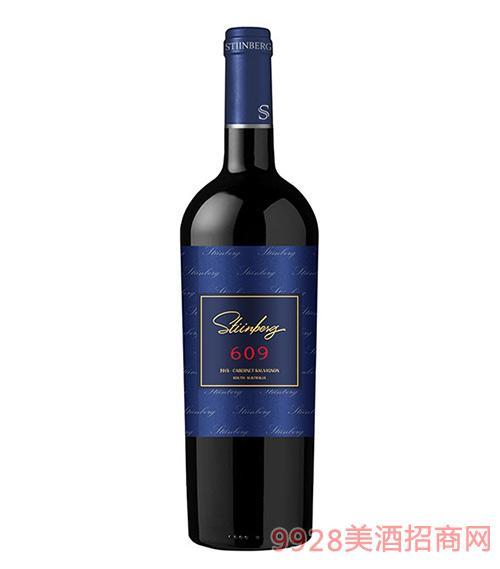 斯丁堡圣山609赤霞珠干红葡萄酒