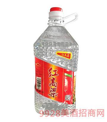 梁父山红高粱酒42度4L