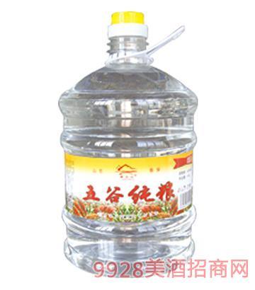 梁父山五谷纯粮酒42度4.5L