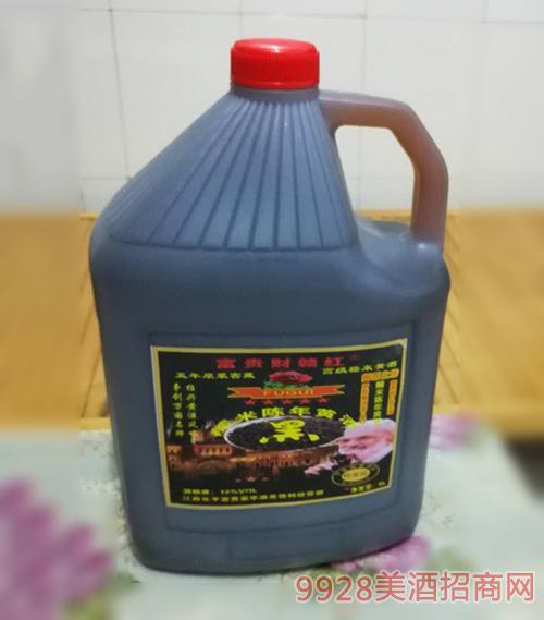 黑糯米陳釀黃酒