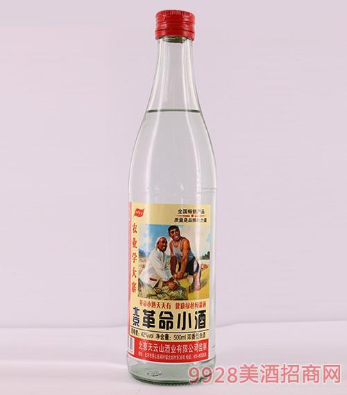 玄武門北京革命小酒42度500ml濃香型白酒