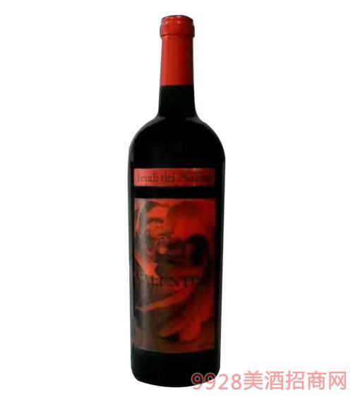 意大利费碧酒庄华伦天奴红葡萄酒750Ml