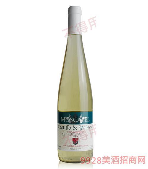 西班牙卡普兰城堡甜白葡萄酒11度750ml