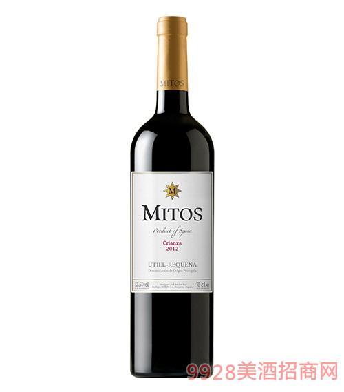 西班牙典藏珍酿干红葡萄酒2012-13.5度750ml