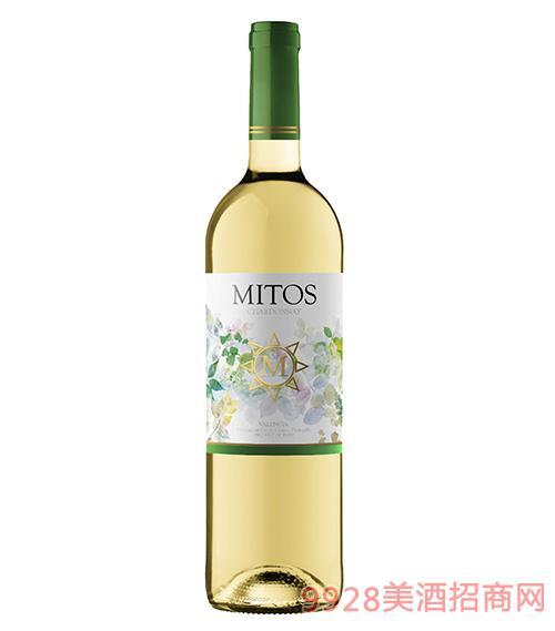 西班牙欧盟认证有机霞多丽干白葡萄酒750ml
