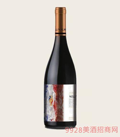 智利美琳卡西拉珍藏红葡萄酒13.5度750ml