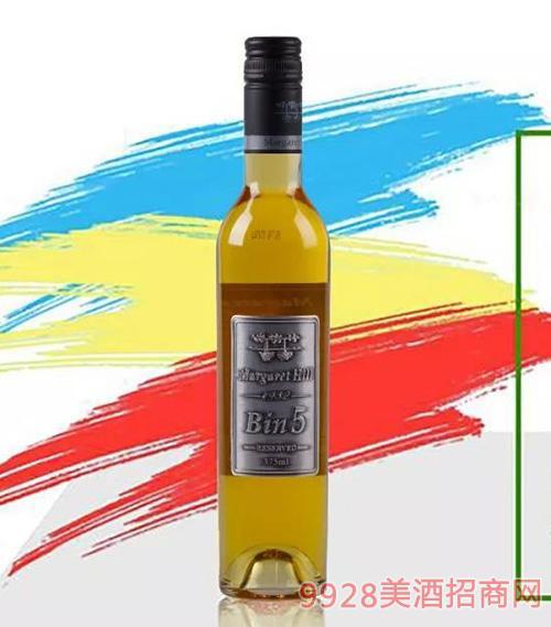 麦肯BIN5赛美容甜白葡萄酒11.5度750ml