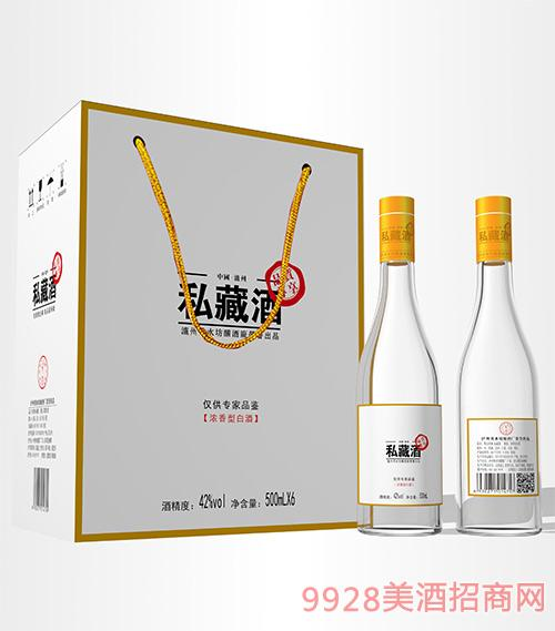 私藏酒42度500mlx6