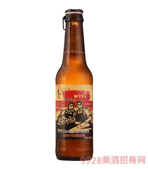 青岛千红精酿啤酒你可以蹭网,但是不能蹭酒