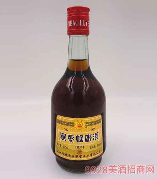 吉泉黑棗蜂蜜酒33度500ml