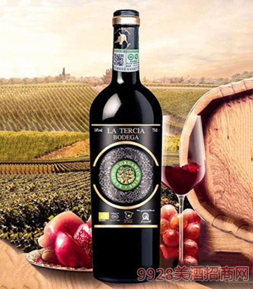 14%vol拉泰斯有机干红葡萄酒