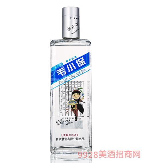 韦小保高粱白酒41.8度500ml