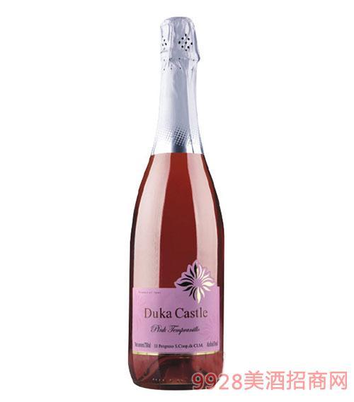 督卡城堡西班牙粉黛甜起泡酒
