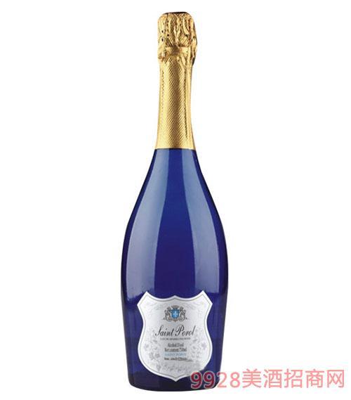 圣堡龙西班牙蓝色妖姬荔枝起泡酒