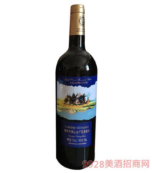 圣堡龙智利中央山谷产区赤霞珠干红葡萄酒