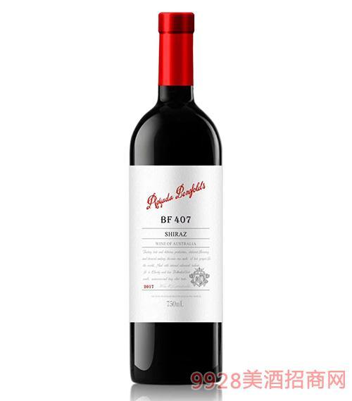 澳亚达奔富407干红葡萄酒14.5度750ml
