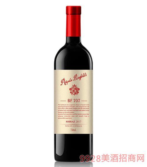 澳亚达奔富707干红葡萄酒14.5度750ml