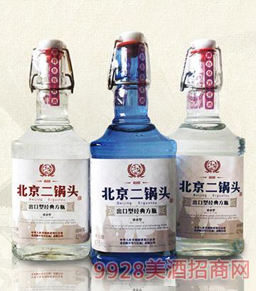 北京二锅头-出口型经典方瓶系列