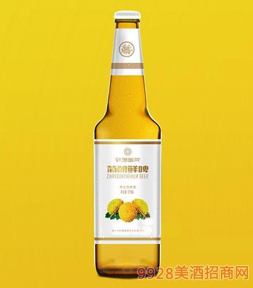轩德皇菊菊酿鲜啤养生型直瓶275ml