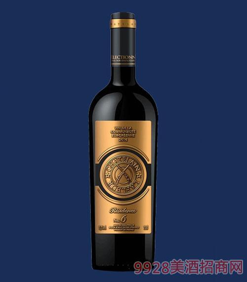 拉斐6号公馆干红葡萄酒瓶装