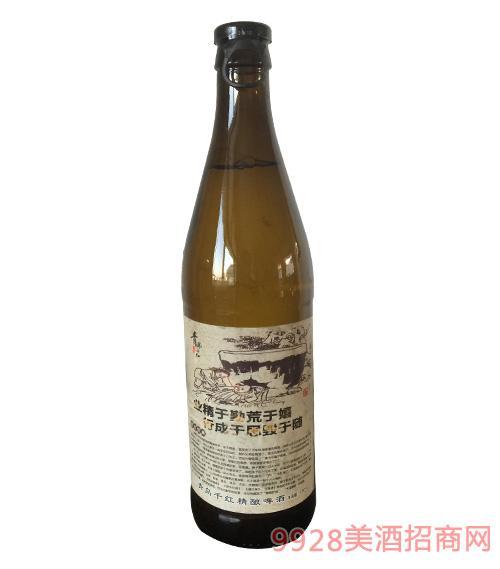 青岛千红精酿啤酒业精于勤荒于嬉,行成于思毁于随